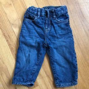 Gap fleece lined 12-18 month jeans